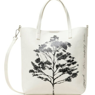 Desigual bílá kabelka Bols Botanica Nerima