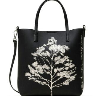 Desigual černá kabelka Bols Botanica Nerima