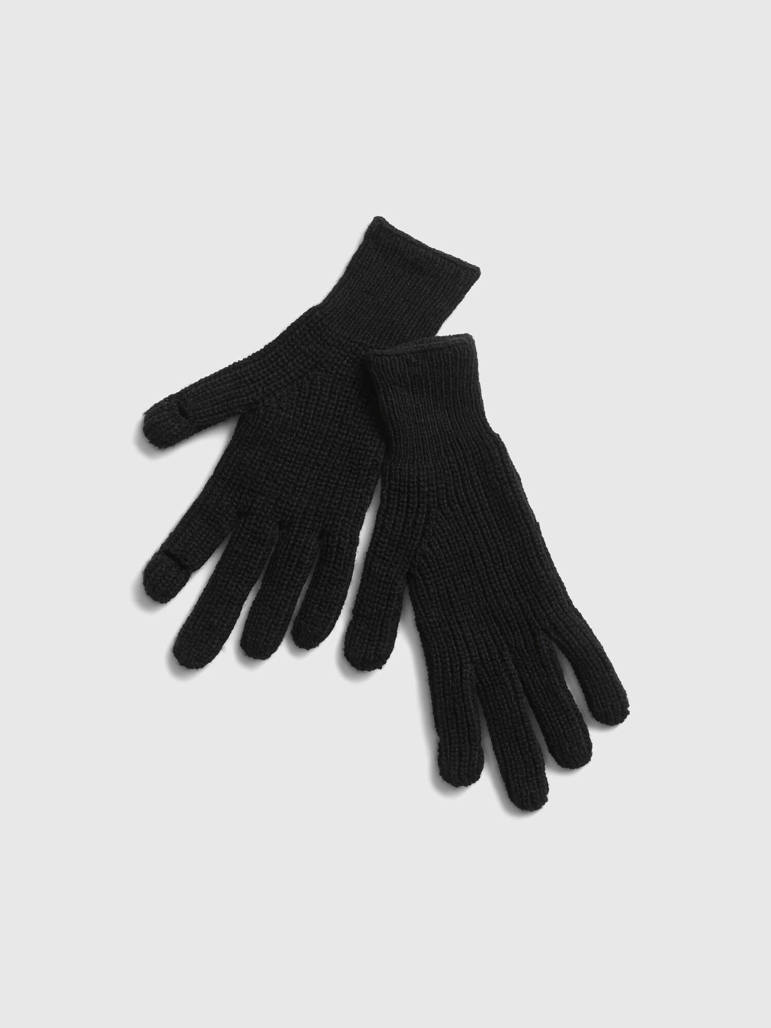 GAP černé dámské rukavice