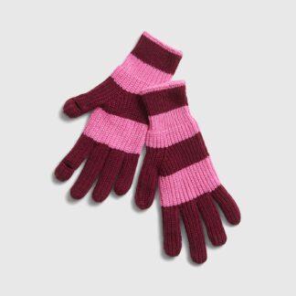 GAP růžové dámské rukavice