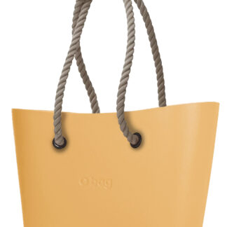 O bag  kabelka Urban Caramello s dlouhými provazy natural