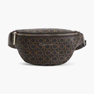 Calvin Klein hnědá ledvinka Waistbag Monogram