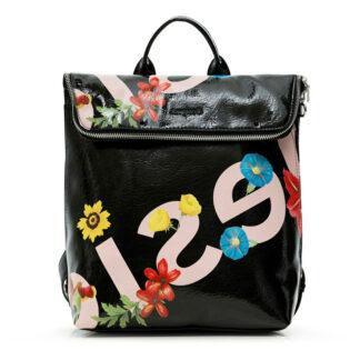 Desigual černý batoh Back Tate Nerano