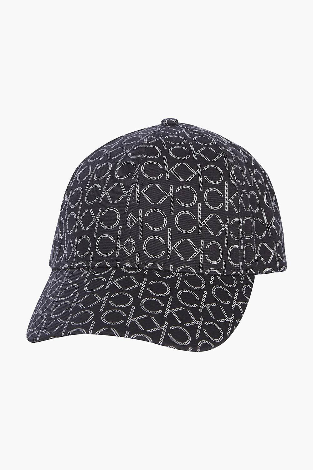 Calvin Klein černá kšiltovka BB Cap s logem