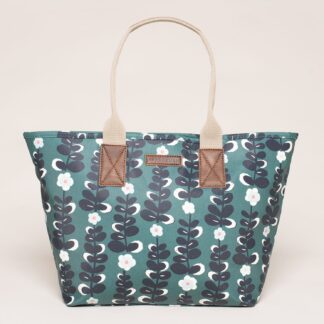 Modrá květovaná kabelka Brakeburn