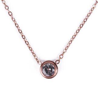 Vuch náhrdelník Velies Rose Gold