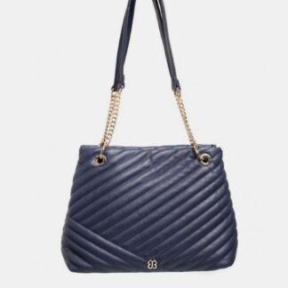 Tmavě modrá kabelka Bessie London