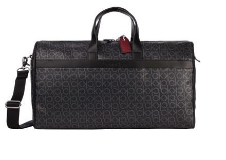 Calvin Klein černá taška Duffle Bag