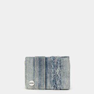 Modrá dámská džínová peněženka Diesel
