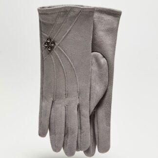 Moodo šedé rukavice