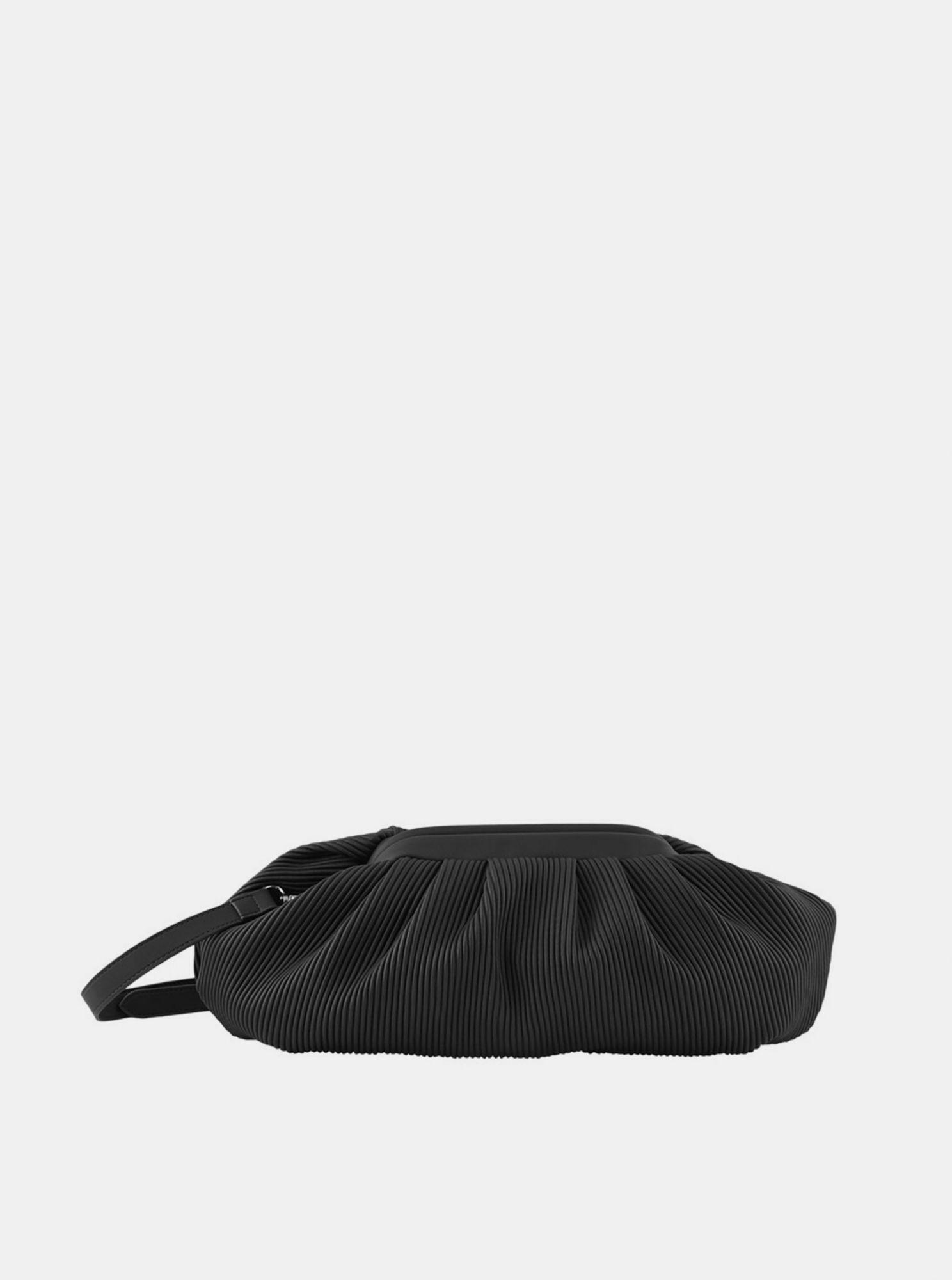 Černá kabelka Pieces Siv