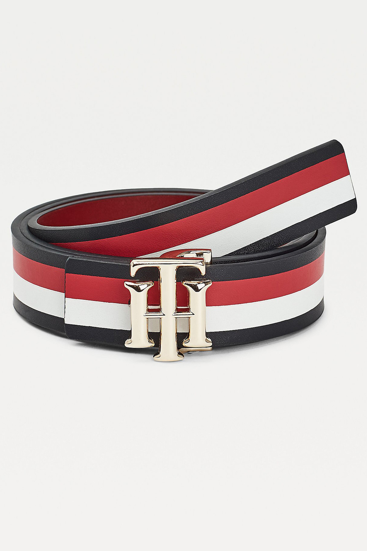 Tommy Hilfiger  oboustranný pásek TH Logo Reversible Belt 3.0 Corp Corporate