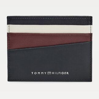 Tommy Hilfiger tmavě modrý pánský dokladovník Seasonal CC Holder Desert Sky