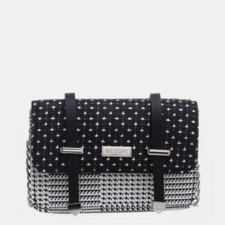 Černá puntíkovaná kabelka Bessie London