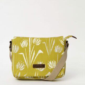 Žlutá květovaná crossbody kabelka Brakeburn Water Reeds