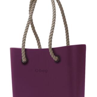 O bag kabelka Porpora s dlouhými provazy natural