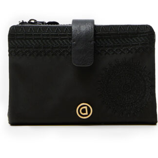 Desigual černá peněženka Mone Alkalina Pia Mini