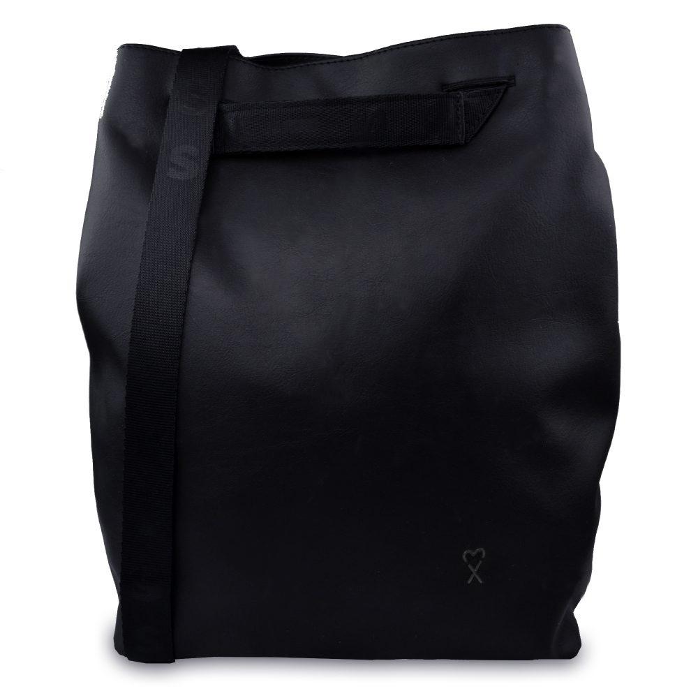 Xiss černý městský batoh Black City