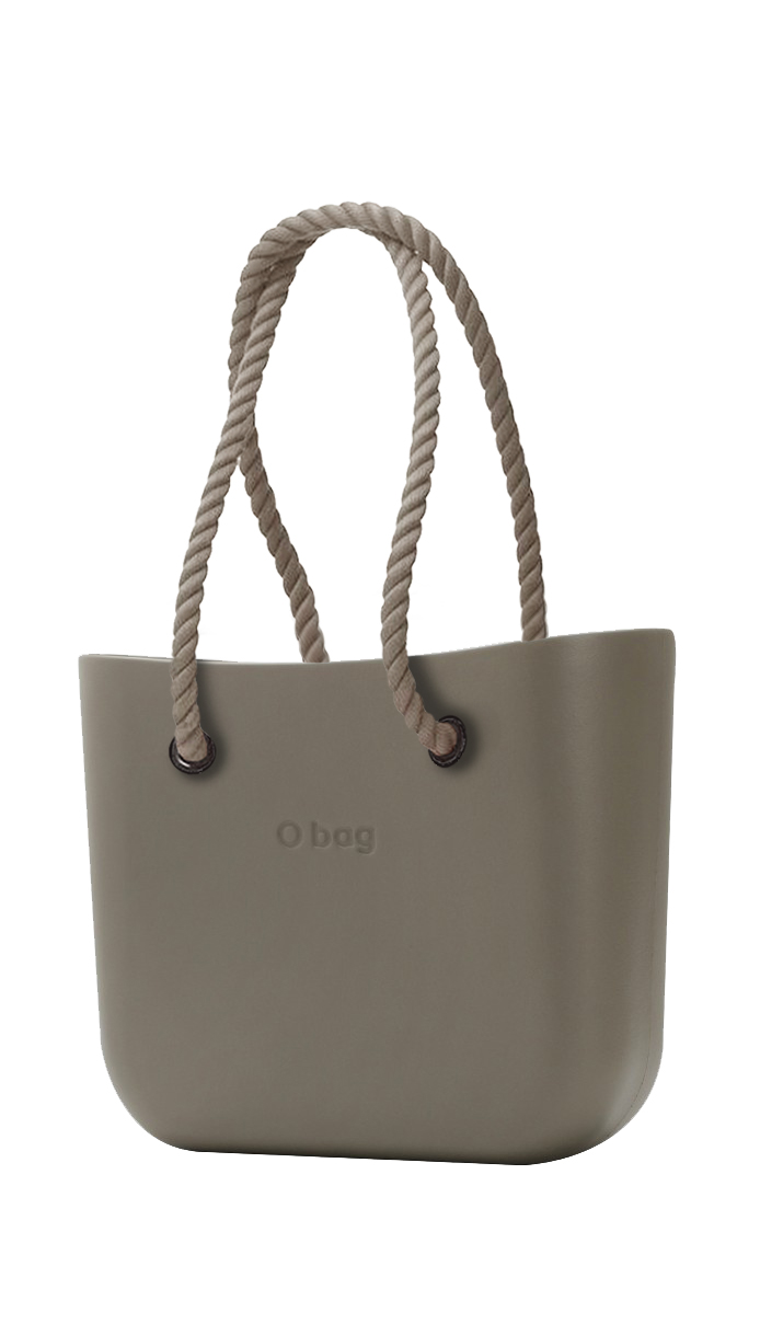 O bag kabelka MINI Rock s dlouhými provazy natural