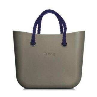 O bag kabelka MINI Rock s tmavě modrými krátkými provazy