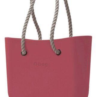 O bag kabelka Marsala s dlouhými provazy natural